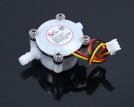 Water Flowmeter High Precision Pure Water Machine Flow Meter Coffee Machine Flow Small Flow Sensor