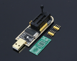 CH341A 24 25 Series Programmer Flash BIOS USB Mainboard B+8/16-pin adapter board