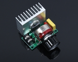 4000W High-power Thyristor Dimming Electronic Speed Regulator Thermostat Enhanced Version