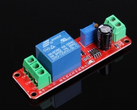 12V Time Delay Relay Module Car-Starting Switcher With optocoupler Siganl Trigger