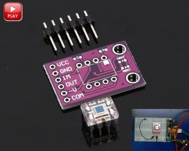 OPT101 Light Intensity Module Monolithic Photodiode Analog Light Sensor Module CJMCU101