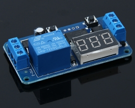 Delay Relay Time Adjustable 12V Delay On-off Multifunctional Module Countdown