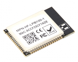 Low Power Embedded Series Turn WIFI SCM Wireless Module HF-LPB100-1 Onboard Antenna