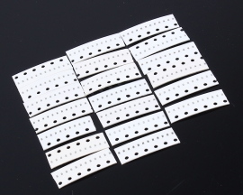 0402 SMD Capacitance Kit 20Kinds each 10pcs 1PF-1uf(105pf) Electronic Component Kit