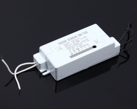 200W Microwave Radar Induction Switch Relay Control 220V Body Infrared Voice Operated Switch