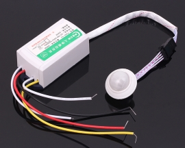 220V 50HZ Intelligent Infrared Induction Switch Split Type With firefighting 4 Wire