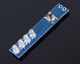 Lithium Battery Electric Dispaly Board for 1pcs Battery Super Low Static Consumption