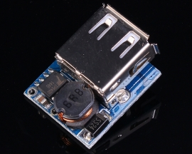 5V Lithium Battery Charge Discharge Protection Integration Board Boost Voltage Module