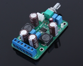 Digital Mini Amplifier Board Module DC 12-24V Single Power Dual Track D-Type 65*40*20mm