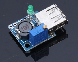 3A DC-DC Adjustable Buck Converter Step Down Module Portable Power Module