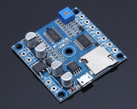 DC 9-24V 10W MP3 UART Amplifier Board Module Support 24Bit DAC For SPI Flash TF Card