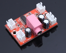 AB-Type LM4863 5V 3W*2 Mini Dual Track Amplifier For Hifi Power Supply