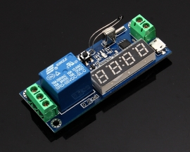 Digital Electric Temperature Timer Board Module Real Time Relay Timing Control