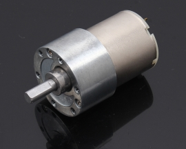 12V 200RPM DC Large Torque DC Motor Metal Geared Motor Electric Motors