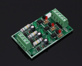 3-Channel Optocoupler Isolation Module AC 220V Testing Module No PCB Holder