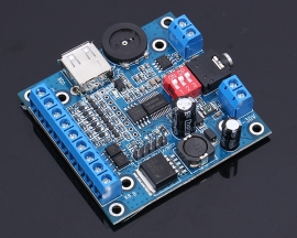 DC 7-30V MP3 Voice Module USB TTL Serial Port Interface Music Play Board
