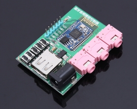 BK8000L Bluetooth 4.0 Wireless Stereo Audio Receiver Speaker MP3 Transmission Amplifier Board Module TTL Button Control