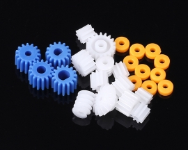 2mm 2.3mm 3mm 3.17mm 4mm Shaft Gear Kits Worm Bevel Gear For Motor Propeller