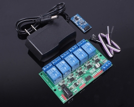 5V 5-Channel Relay Module Suite For TTL Level RS485 Bluetooth Manual Network Control