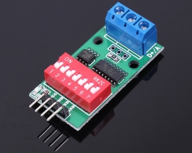 5V RS485 To UART SCM TTL To RS485 Converter Module With Coding Address
