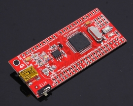 STC12C5A60S2 SCM C51 Serial Minisystem Development Board For USB Power Supply Download
