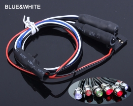 Car Lamp for Remote Control Model Car External Blue Internal White For Toy Car