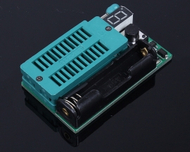 Integrated Circuit IC Test Instrument Battery Supply For LED Optocoupler LM339 Testing