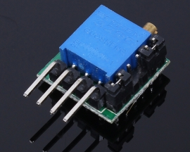 AT43 DC 3-12V Delay Circuit Module 1s-20h For Delay Switch Timer Pin Space 2.54mm