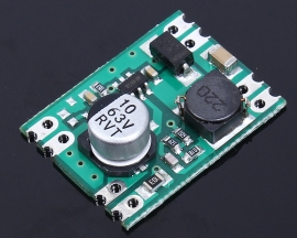 DC-DC Step Down Module 4.5-55V to 3.3V 0.6A Buck Power Supply Fixed Output