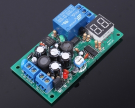 Optocoupler Relay Module 0s-99s/min Delay Continuous Output LED Display AC 85-260V Input