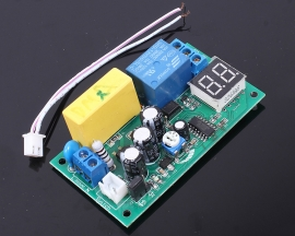 Relay Module 0-99s/min Delay LED Display With Safety Capacitor 220V