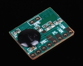 Mini Voice Sound Recording Playback Sound Module 6 Second for 0.25-2W 8ohm Loudspeaker