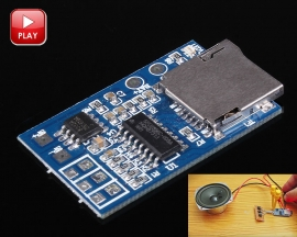 DC 3-5V Voice Module MP3 Music Player for 1-3W Loudspeaker TF Card Module