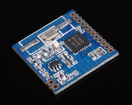 Wireless Transceiver Module 20dBm 1.8-3.6V 433MHz FSK/GFSK/OOK Modulation