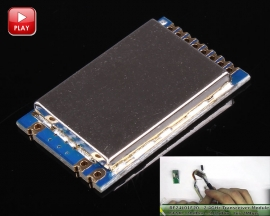 RF24L01F20 2.4GHz Wireless Transceiver Module GFSK Modulation Embedded Remote Transmitter Receiver 20dBm 2400-2525MHZ