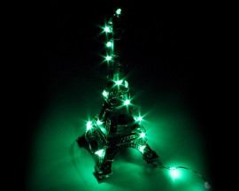 Green USB Copper Wire LED Fairy Light String Decorations For Party