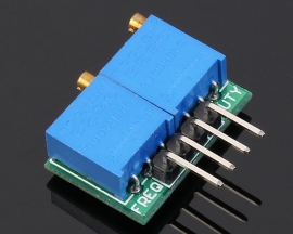 0.1Hz-102.4Hz Square Wave Signal Source Frequency Duty Cycle Adjustable 2.4V-24V