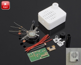 Welcome Guest Greeting Sensor Switch DIY Kit Light Control Greeting Machine DIY Kits