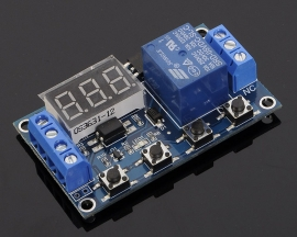 6-30V 1-Channel Relay Module ON/OFF Trigger Delay Cycle Timing Circuit Switch
