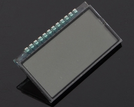 GDC04212 4-Bit Clock LCD Display 42*23*2.8mm 3.0V Metal Pin Connection