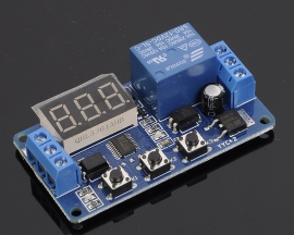 12V Trigger Delay Relay Module Cycle Timing Programmable Time Delay OFF Module
