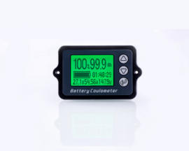 TK15 Coulomb Meter for Battery Capacity Display 80V 50A