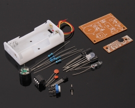 Touch Vibration Alarm Suite NE555 Circuit KD9651 For Electronic Training Learning DIY Kits