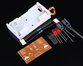 Flash Circuit Multivibrator Circuit Suite DIY Kit for Electronic Teaching