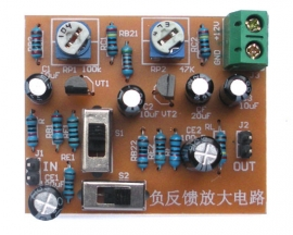 Negative Feedback Amplifier Circuit Suite DIY Kit for Analog Electronic Technology