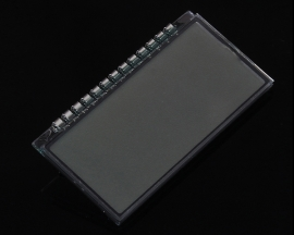 GDC8310 TN LCD Display 4-Bit 3.3V with Electricity Quantity Symbol