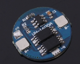 4A Protection Board Double MOS Tube with Thermal Plastic Film For 18650 Lithium Battery