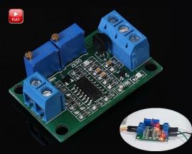 0-5V to 4-20mA Voltage to Current Module Non-Isolated Type Current Converter Module DC 7-30V