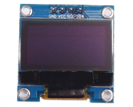 "0.96"" Inch I2C IIC Serial 128X64 Blue OLED Display Module SSD1306 for Arduino"