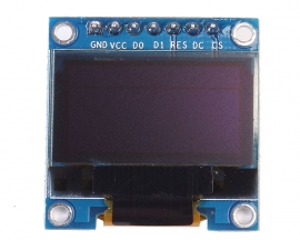 "0.96"" Inch I2C IIC SPI Serial 128X64 Blue OLED Display SSD1306 for Arduino"